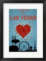 Framed I Love Las Vegas