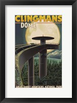 Framed Clingman's Dome