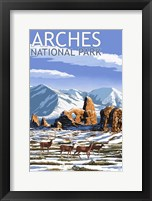 Arches 1 Framed Print
