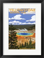 Yellowstone 2 Framed Print