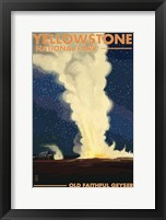 Yellowstone 3 Framed Print