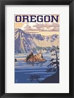 Framed Oregon