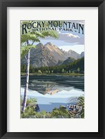 Rocky Mountain 3 Framed Print