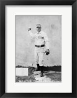 Vintage Baseball 20 Framed Print