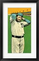 Vintage Baseball 27 Framed Print