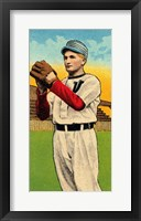Vintage Baseball 28 Framed Print