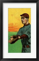 Vintage Baseball 34 Framed Print