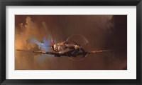 Framed Spitfire