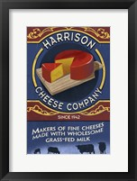 Framed Harrison Cheese Co.