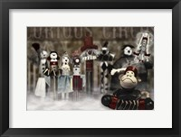 Circus Family Framed Print