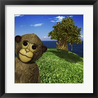 Framed Year of the Monkey