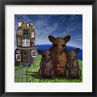 Year of the Rat Framed Print