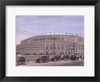 Framed Yankee Stadium