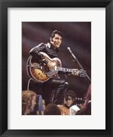 Framed Elvis in Leather