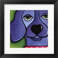 Wet behind the ears Framed Print