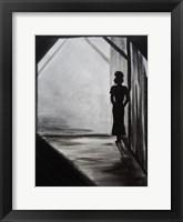 Midnight Affair Female Framed Print