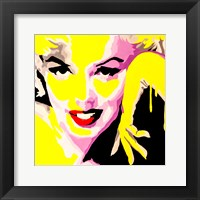 Framed Temptress Marilyn Monroe