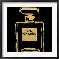 Chanel Black Urban Chic Framed Print
