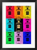 Chanel All Colors Chic Framed Print