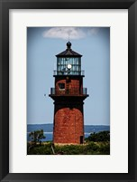 Gay Head Lighthouse Marthas Vineyard MA Framed Print