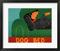 Framed Dog Bed Dachshund