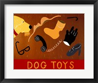 Framed Dog Toys Yellow