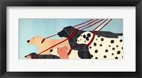 Framed Dog Walker