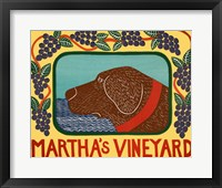 Marthas Vineyard Choc Framed Print