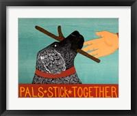 Framed Pals Stick Together Black
