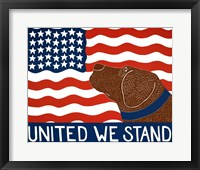Framed United We Stand Choc