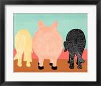 Framed We Eat Like Pigs