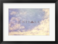 Framed Exhale