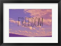 Framed Freedom