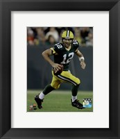 Framed Aaron Rodgers 2015 Action