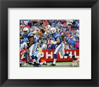 Framed Andrew Luck 2015 Action
