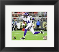 Framed Cordarrelle Patterson 2015 Action
