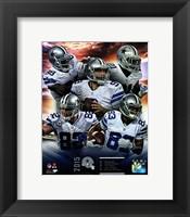 Framed Dallas Cowboys 2015 Team Composite