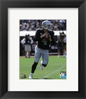Framed Derek Carr 2015 Action