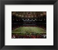 Framed Georgia Dome 2013