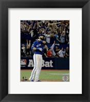 Framed Jose Bautista three-run Home Run Game 5 of the 2015 American League Division Series