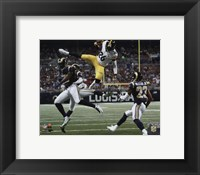 Framed LeVeon Bell 2015 Action