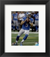 Framed Matthew Stafford 2015 Action