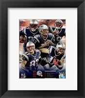 Framed New England Patriots 2015 Team Composite