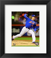 Framed Noah Syndergaard Game 2 of the 2015 National League Championship Series