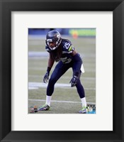 Framed Richard Sherman 2015 Action