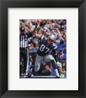Framed Rob Gronkowski 2015 Action