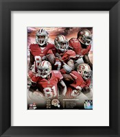 Framed San Francisco 49ers 2015 Team Composite