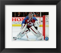 Framed Semyon Varlamov 2015-16 Action