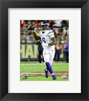 Framed Teddy Bridgewater 2015 Action