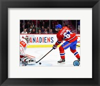 Framed Max Pacioretty 2015-16 Action
